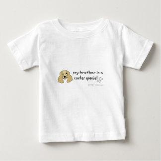T-shirt Pour Bébé cocker