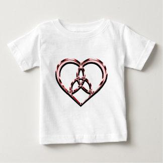 T-shirt Pour Bébé coeur celtique