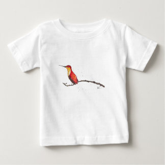 T-shirt Pour Bébé Colibri sur la branche