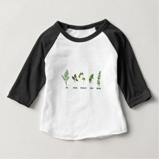 T-shirt Pour Bébé Collection d'herbe