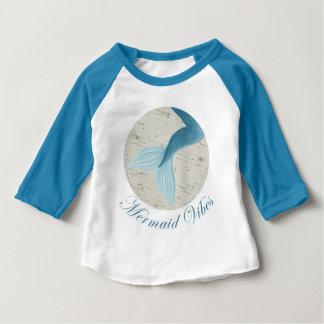 T-shirt Pour Bébé Collection peinte de sirène