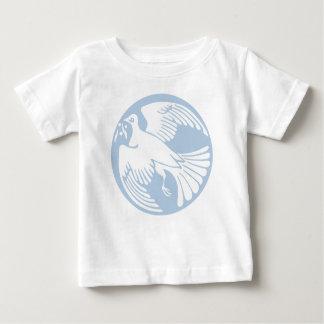 T-shirt Pour Bébé colombe de paix