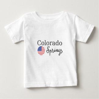 T-shirt Pour Bébé Colorado Springs