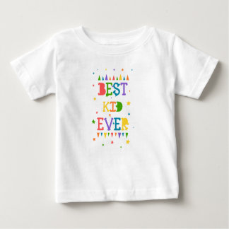 T-shirt Pour Bébé Colorez la pleine étoile avec la citation le