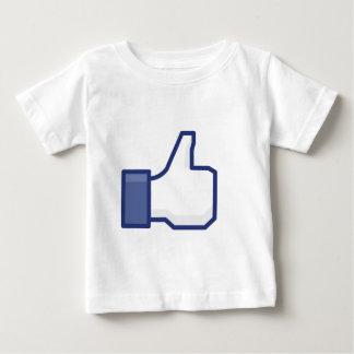 T-shirt Pour Bébé Comme la main