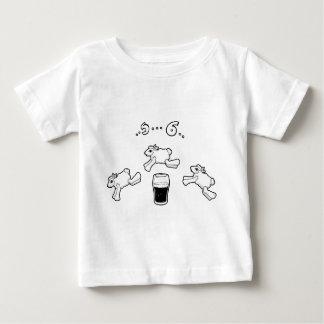 T-shirt Pour Bébé Compte irlandais de moutons