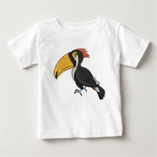 T-shirt Pour Bébé Conception colorée d'enfants de toucan de bande