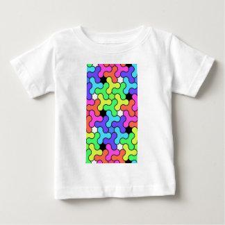 T-shirt Pour Bébé Conception de fileur de personne remuante