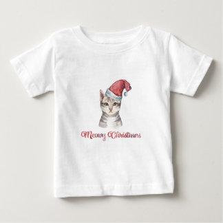 T-shirt Pour Bébé Conception de Noël de Meowy pour des amoureux de