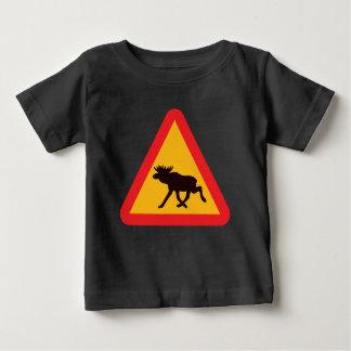 T-shirt Pour Bébé Conception graphique des orignaux |