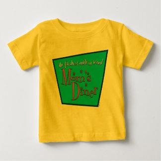 T-shirt Pour Bébé Conception Pro-Allaitante du wagon-restaurant de