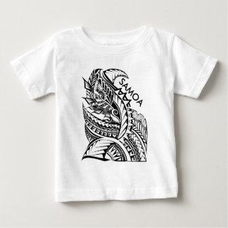 T-shirt Pour Bébé Conception tribale d'île du SAMOA
