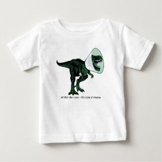 T-shirt Pour Bébé Cône de T-Rex du bébé T de la honte 2
