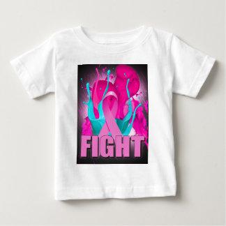 T-shirt Pour Bébé Conscience de cancer du sein