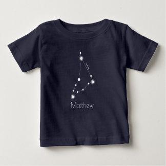 T-shirt Pour Bébé Constellation personnalisée de zodiaque de