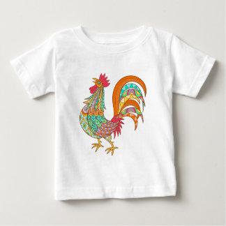 T-shirt Pour Bébé cool coloré d'amusement d'art de conception