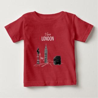 T-shirt Pour Bébé Cool moderne élégant élégant de Big Ben de croquis