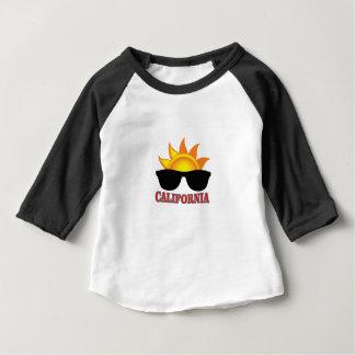 T-shirt Pour Bébé cool rouge de la Californie