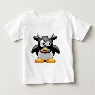 T-shirt Pour Bébé Cool vache