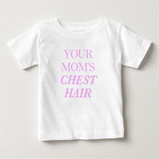 T-shirt Pour Bébé Copie de cheveux du coffre de votre maman