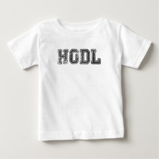 T-shirt Pour Bébé Copie de Hodl Cryptocurrency