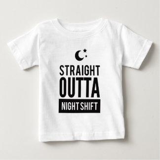T-shirt Pour Bébé Copie droite drôle de poste de nuit d'OUTTA