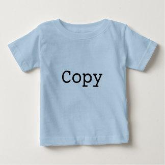 """T-shirt Pour Bébé Copie et pâte pour des jumeaux """"COPIE """""""