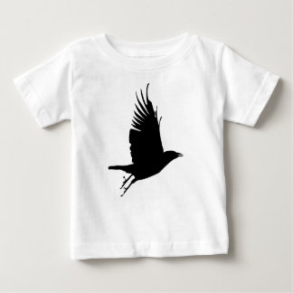 T-shirt Pour Bébé Corneille de vol