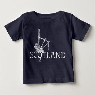 T-shirt Pour Bébé Cornemuses de l'Ecosse, conception d'écossais