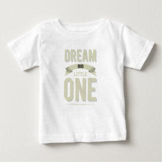 T-shirt Pour Bébé Cornsilk rayé vintage grand petit le rêveur