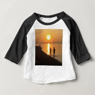 T-shirt Pour Bébé Coucher du soleil dans Bali