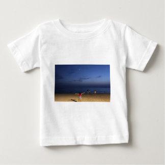 T-shirt Pour Bébé Coucher du soleil de l'Espagne