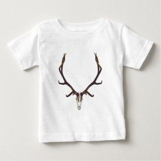 T-shirt Pour Bébé Couleur de crâne d'élans de Taureau