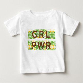 T-shirt Pour Bébé Couleur de puissance de fille