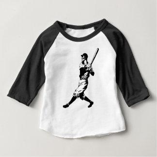 T-shirt Pour Bébé Coup de joueur de baseball