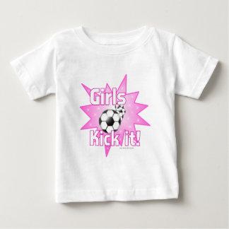 T-shirt Pour Bébé Coup-de-pied de filles il