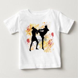 T-shirt Pour Bébé Coup-de-pied de tête de MIXED MARTIAL ART