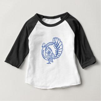 T-shirt Pour Bébé Coupe latérale sauvage de papier de la Turquie