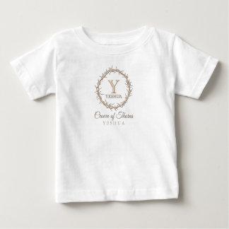 T-shirt Pour Bébé COURONNE des ÉPINES chrétiennes