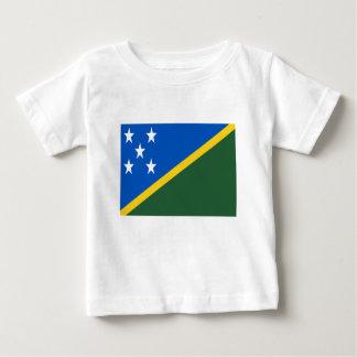 T-shirt Pour Bébé Coût bas ! Drapeau d'îles Salomon