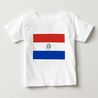 T-shirt Pour Bébé Coût bas ! Drapeau du Paraguay