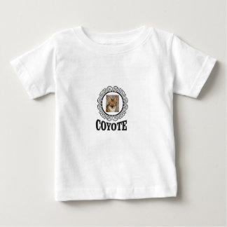 T-shirt Pour Bébé coyote rond