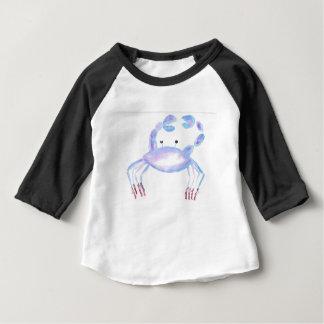 T-shirt Pour Bébé Crabe faisant le ballet