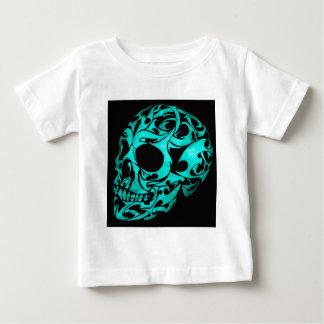 T-shirt Pour Bébé crâne 3D gothique