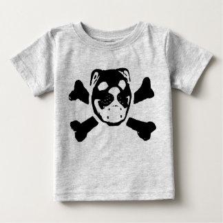 T-shirt Pour Bébé Crâne de bouledogue pour le bébé
