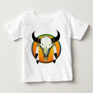T-shirt Pour Bébé crâne de bufflalo