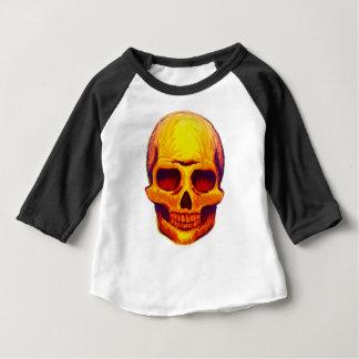 T-shirt Pour Bébé Crâne de croquis