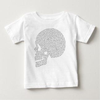 T-shirt Pour Bébé Crâne de Wireframe