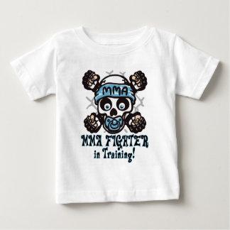 T-shirt Pour Bébé Crâne et Binky de MIXED MARTIAL ART