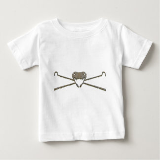 T-shirt Pour Bébé Crâne et Crosshooks
